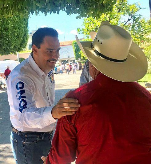 Seré un senador sensible a las necesidades del campo: Martín del Campo