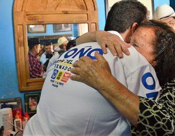 Reitera Toño Martín del Campo sus propuestas a habitantes de Aguascalientes