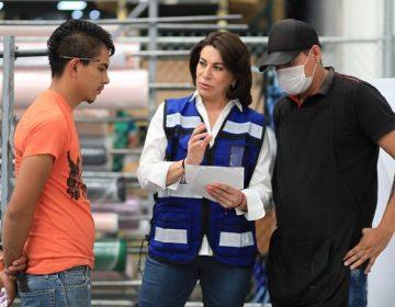 Plantea Lorena Martínez 5 acciones para elevar ingresos de trabajadores