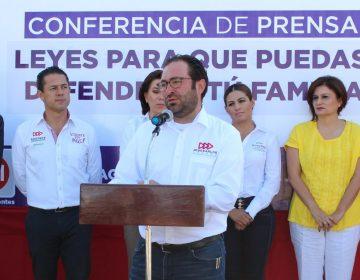 """Mi compromiso es impulsar leyes que protejan a las familias de Aguascalientes"": JCLRR"