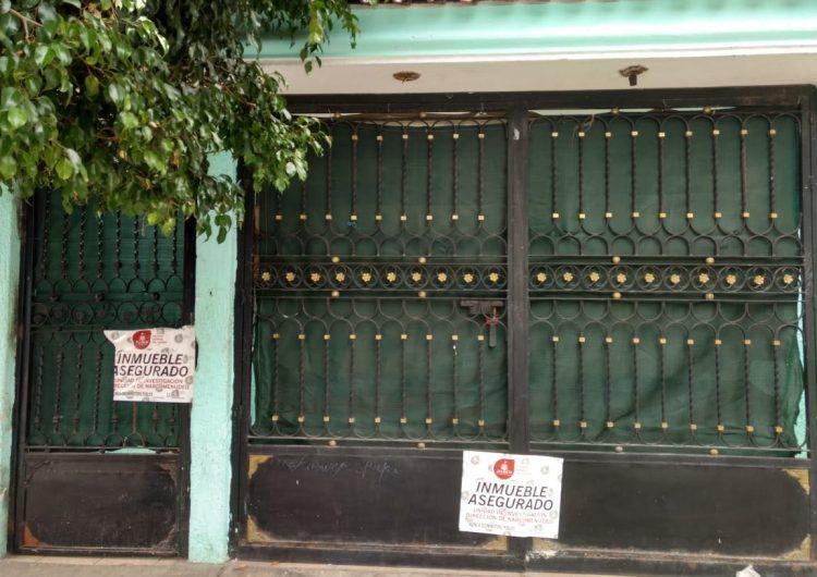 Desmantelan punto de venta de narcomenudeo en Polanquito