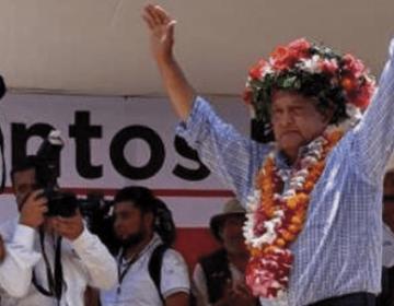 Hoy cierra López Obrador su campaña local en plaza Juárez