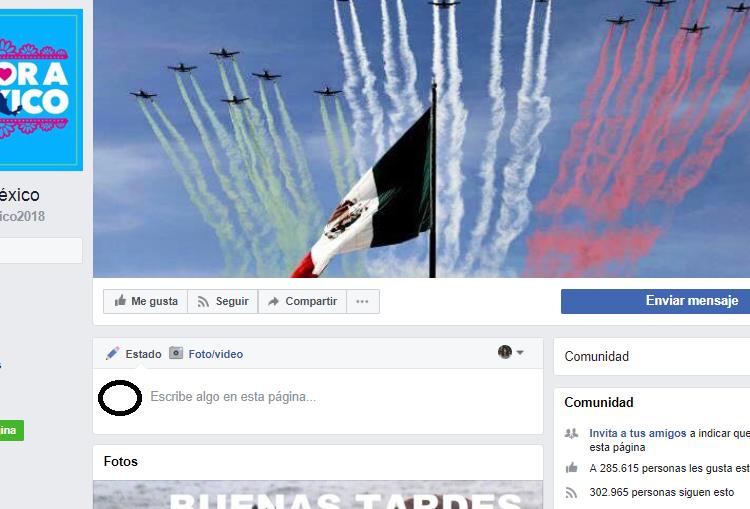 Amor a México, una página en Facebook que difunde noticias falsas duplica seguidores en dos meses