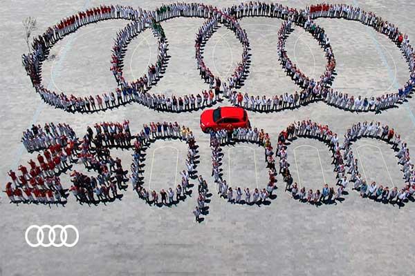 Celebra Audi producción de 250 mil camionetas Q5