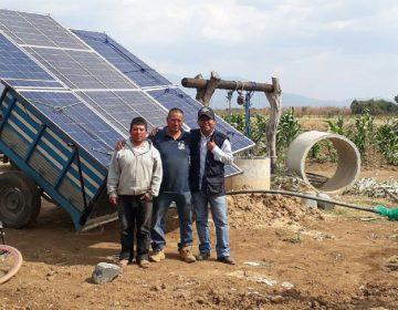 """""""Carretas solares"""" opción de riego para el campo oaxaqueño"""