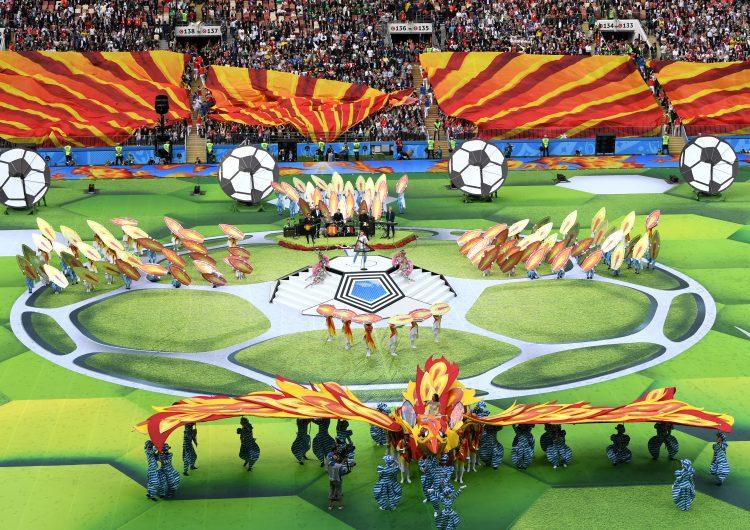 Mundial 2018: inicia la fiesta en la cancha del estadio de Luzhniki, en Moscú