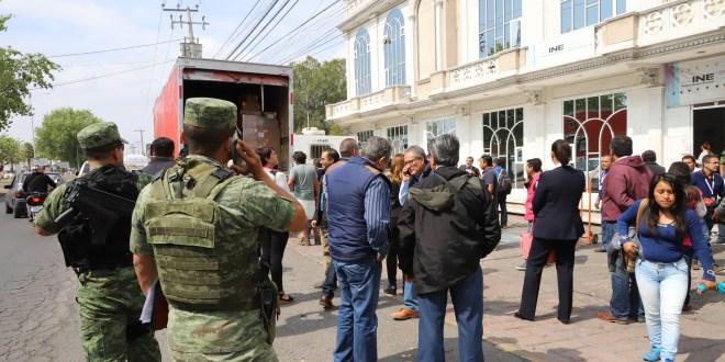 Piden seguridad en recta final electoral