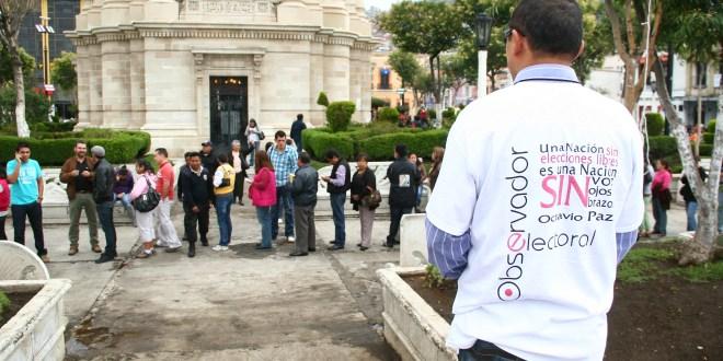 Tendrá Hidalgo 598 observadores en la elección de mañana