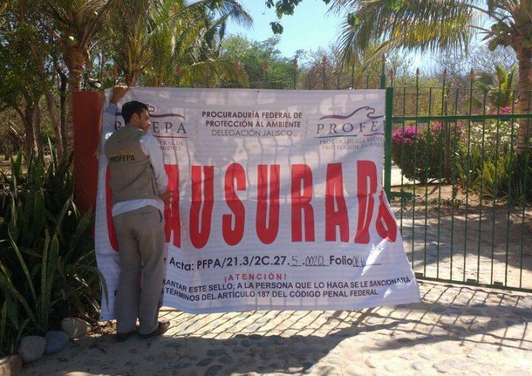 Clausuran complejo turístico por daños al ecosistema prioritario en Cabo Corrientes