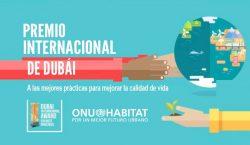 México gana el Premio Dubái de ONU-Hábitat