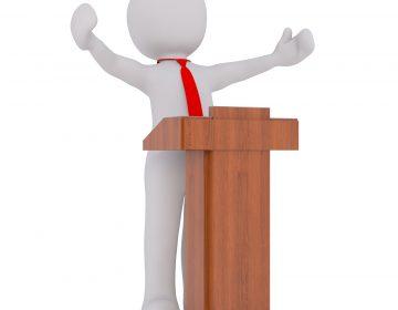 Debaten candidatos por la alcaldía capitalina ante auditorio casi vacío