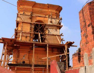 Templos esperan restauración a casi un año del sismo