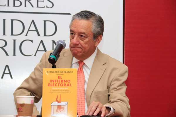 Desde el INE no dejarán que Obrador gane, advierte Bernardo Barranco