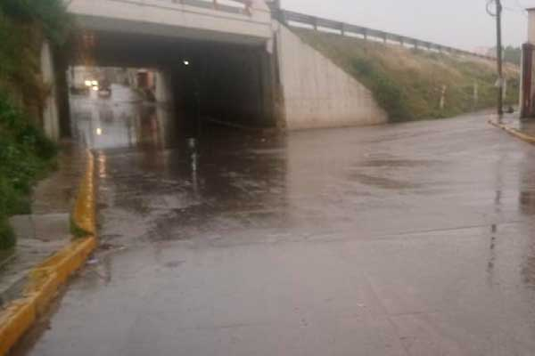 400 familias de Texmelucan en peligro por lluvias
