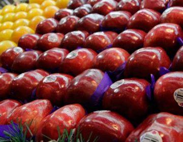 La manzana por las nubes; a $46.80 el kilo