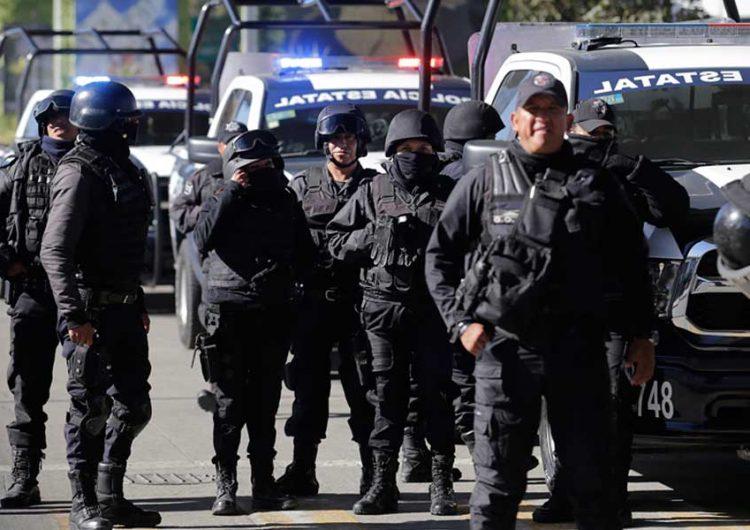 Despliegue policiaco para cuidar elección