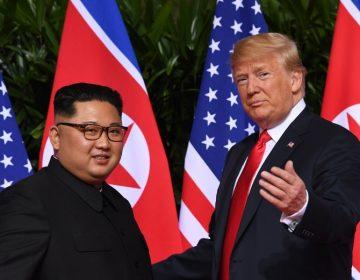 """""""Si no fuera por mí, estaríamos ahora en guerra"""", dice Trump sobre conversaciones con Kim"""