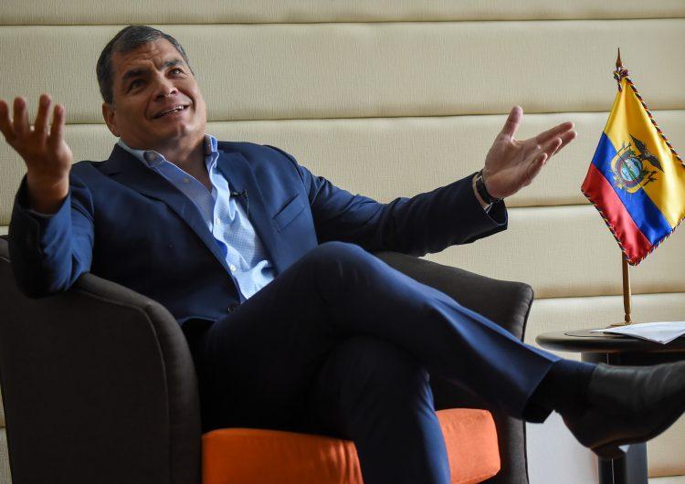 Responde expresidente Correa a orden de detención: Es un complot del gobierno de Ecuador