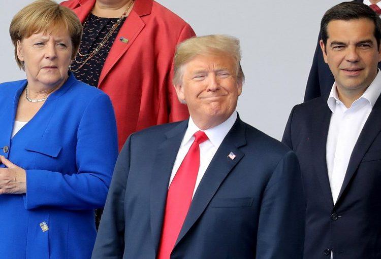 """Trump reparte criticas en la OTAN: llama a Alemania """"prisionera"""" de Rusia por su gas"""