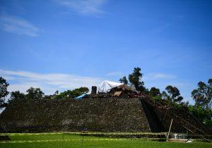 El terremoto del 19S en México reveló un templo dentro de una pirámide