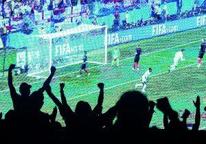 Croacia le dio un beso al mundo
