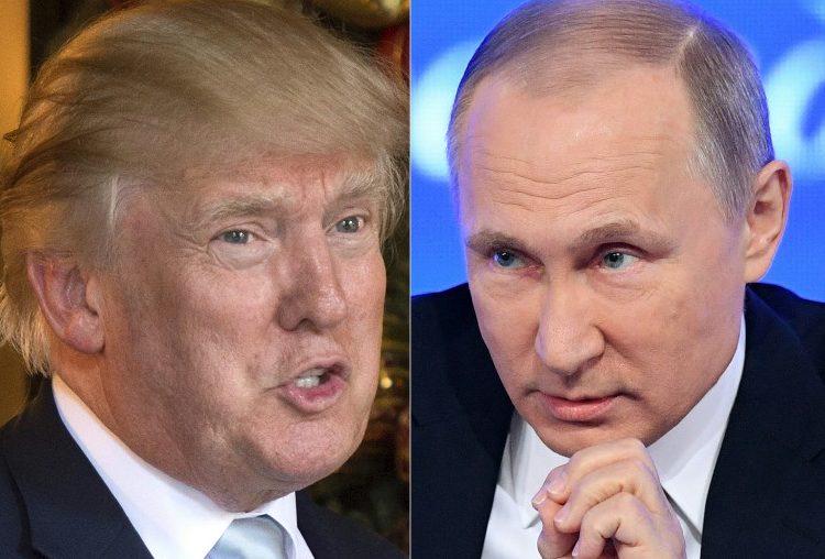 """A unas horas de reunirse con Putin, Trump dice que Rusia es uno de los """"enemigos"""" de EE.UU."""