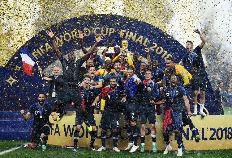 20 años después, Francia 🇫🇷 se convierte en el campeón del mundo🏆