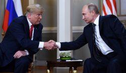 Trump y Putin se elogian, buscan salvar su relación y…