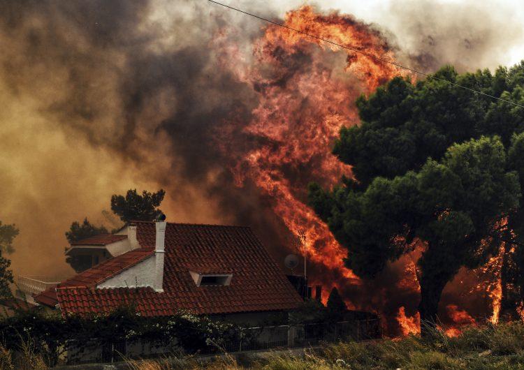 Incendios en Grecia: Reportan más de 70 muertos y cientos de heridos