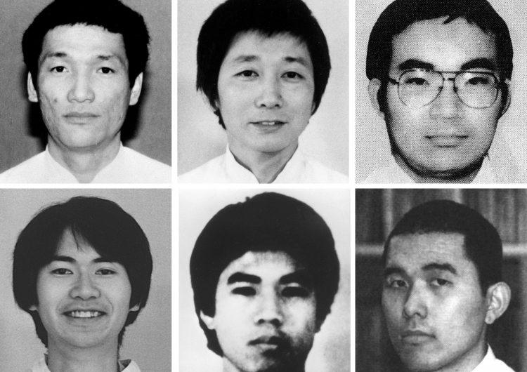 Japón ejecuta a 6 responsables del atentado en el Metro de Tokio hace 23 años