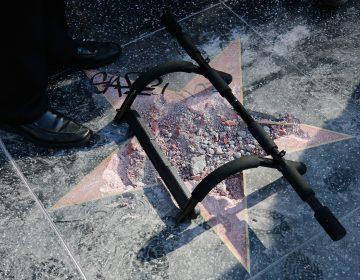 La estrella de Trump deja de brillar en Hollywood: es vandalizada por segunda vez en menos de dos años