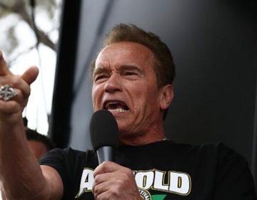 """Arnold Schwarzenegger llama a Trump """" fideo mojado """" y lo acusa de vender al país con Putin"""