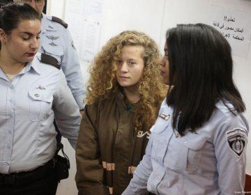 Luego de 8 meses en prisión, liberarán a adolescente palestina que abofeteó a soldados en Israel