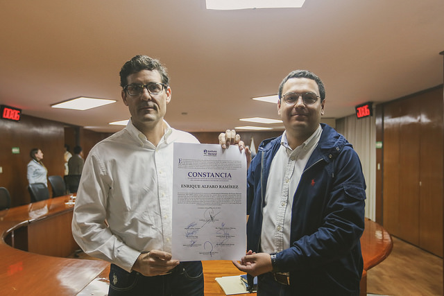 IEPC entrega constancia de mayoría de Alfaro como Gobernador electo