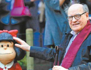 Quino rechaza que Mafalda sea imagen de campaña contra el aborto legal