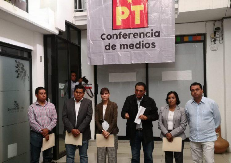 Recomienda PT a gobierno de Oaxaca austeridad y reducción de salarios