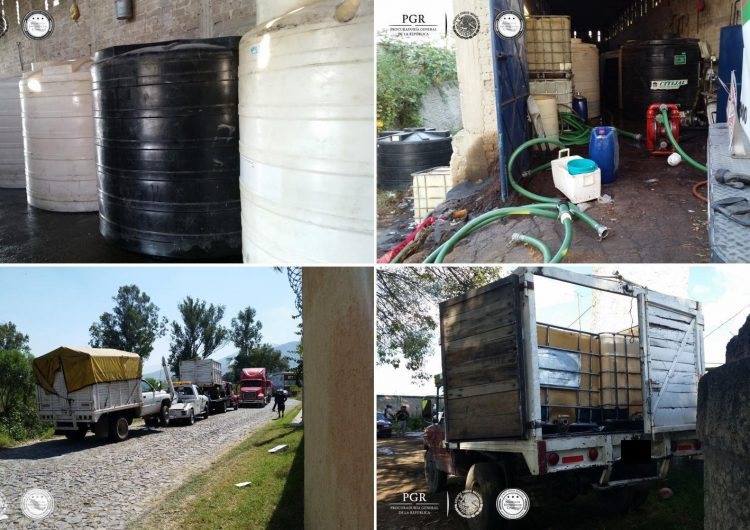Incautan 18 mil litros de hidrocarburo en Tonalá; Jalisco, sexta entidad con más tomas clandestinas