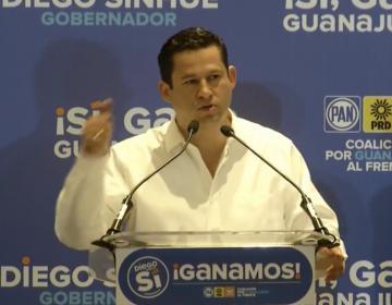 Sinhue se declara ganador en Guanajuato