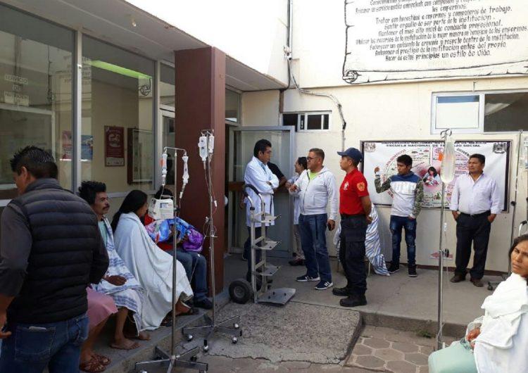 Daños menores dejó sismo de 5.9 en Oaxaca