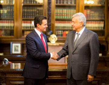 México inicia la transición del poder: AMLO y Peña se reúnen (fotos y video)