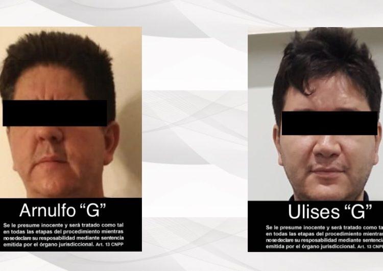Capturan en Jalisco a los hermanos González Valencia que operaban para el CJNG en Sudamérica