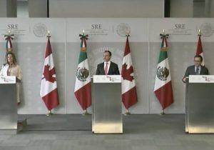 Ahora toca a Canadá: López Obrador tiene su primera reunión con canciller canadiense