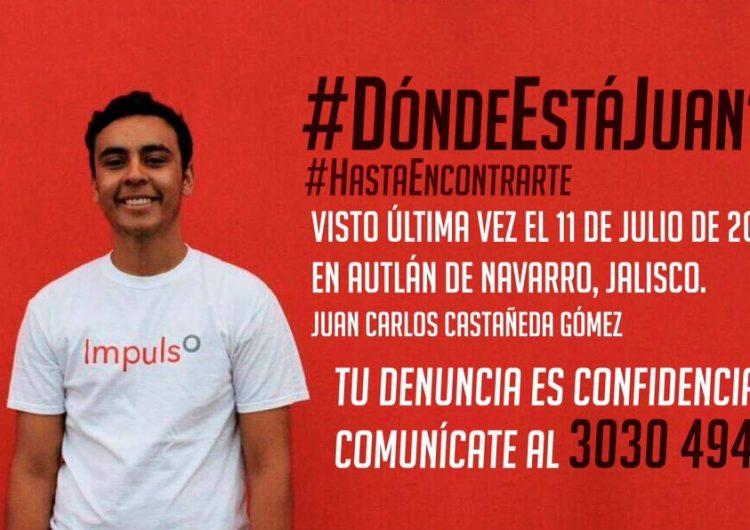 Reportan desaparición de otro estudiante de la UdeG, ahora en Autlán de Navarro