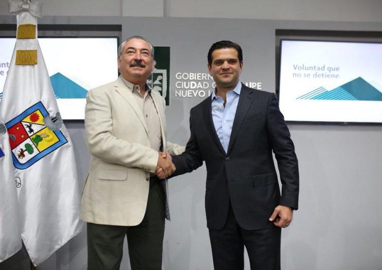 Acuerdan Francisco Cienfuegos y Pedro Garza transición en Guadalupe