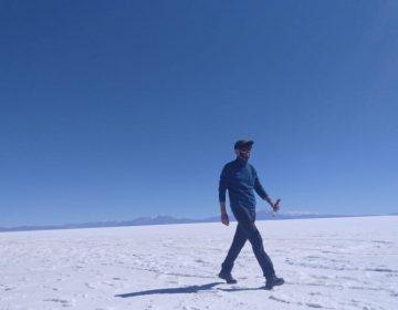 Un francés ciego recorrió 140 km con GPS auditivo