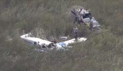 Dos avionetas chocan entre sí y mueren 4 personas en…