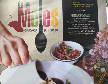 """Muestra Oaxaca tradición culinaria en """"Festival de los moles"""""""