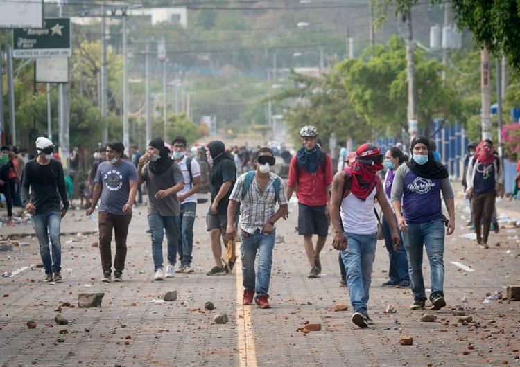 Nicaragua: 100 días de rebelión en imágenes