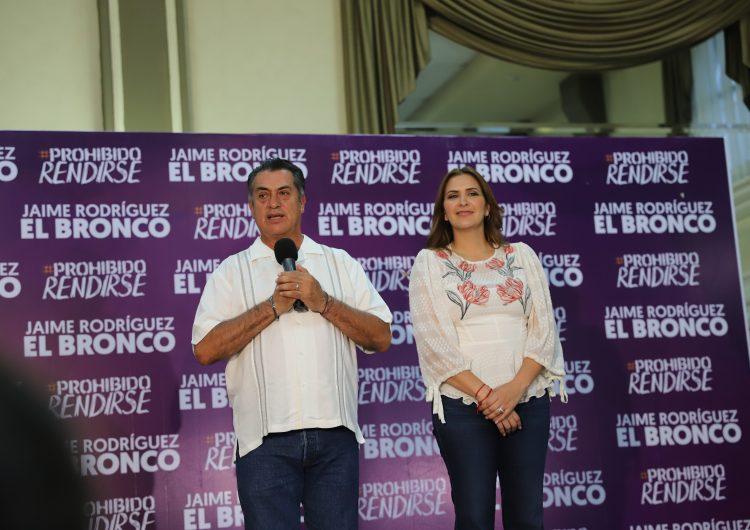 """Notificará """"El Bronco"""" al Congreso local su regreso al Gobierno de NL desde donde apoyará a AMLO, dice"""