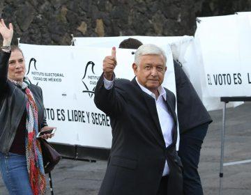 Encuestas de salida dan una holgada victoria a Andrés Manuel López Obrador